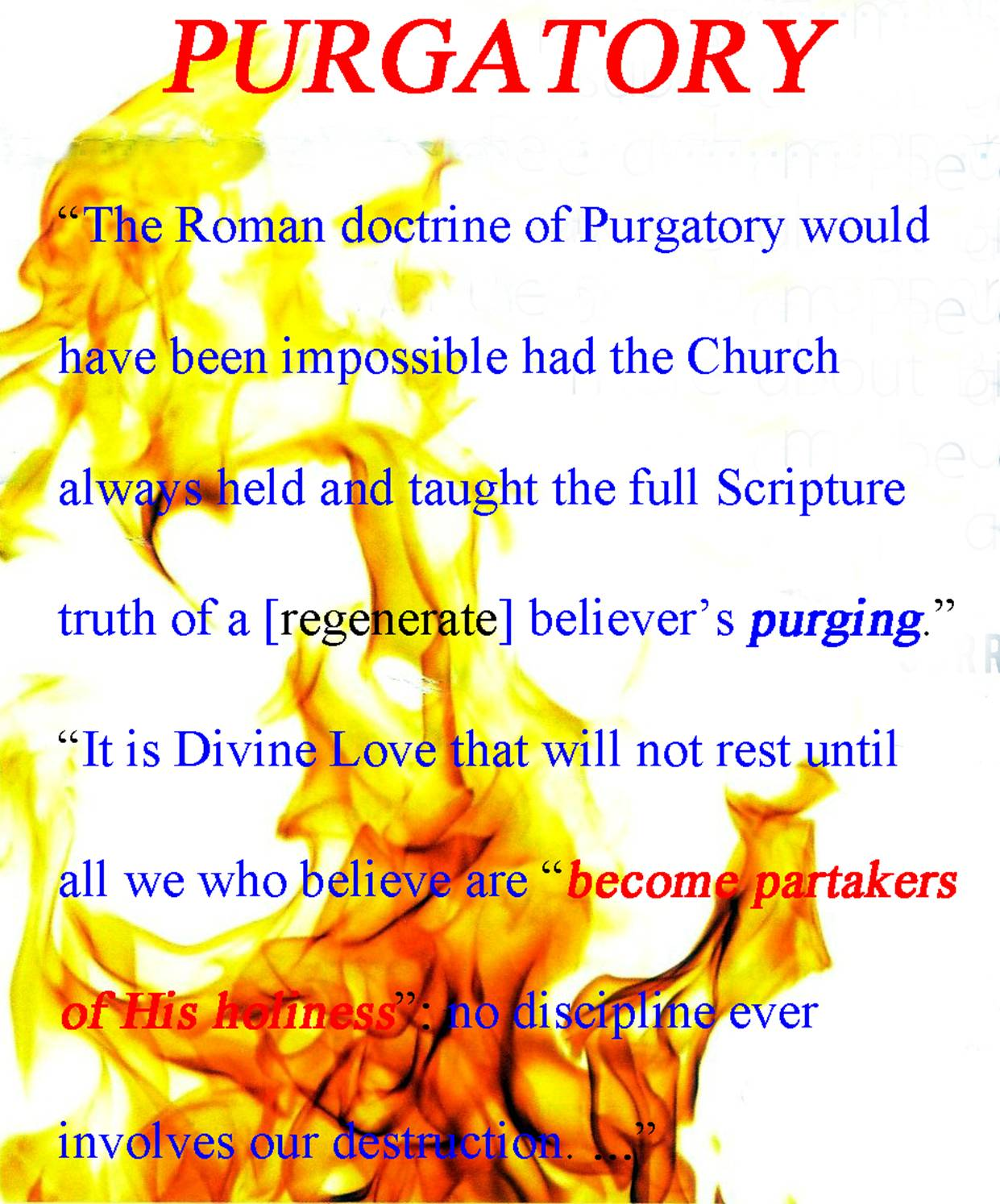 from Aydin dating purgatory meaning