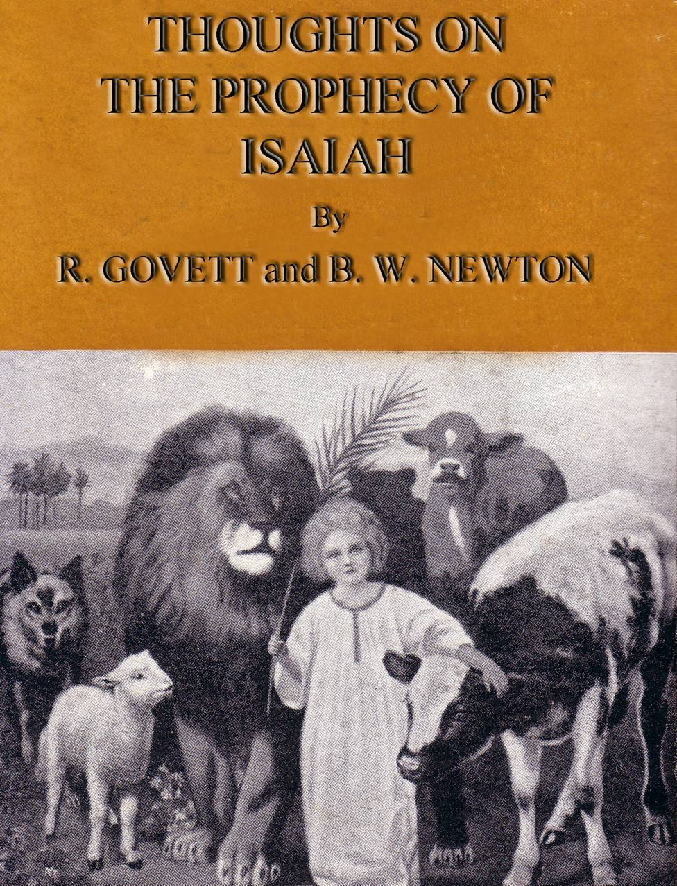 ISAIAH CHAPTER ONE. By ROBERT GOVETT